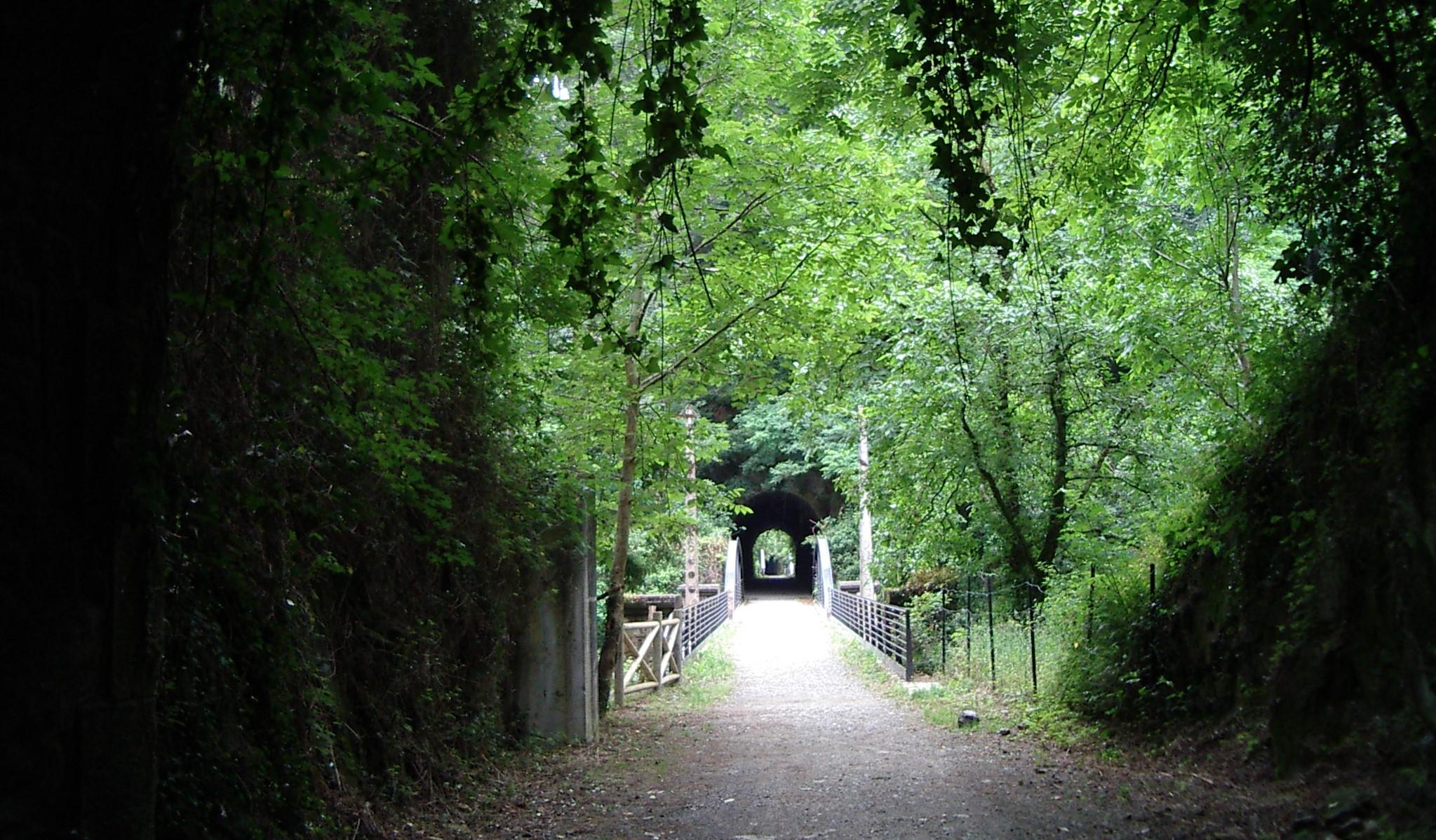 Via Verde del urola irudia - urolaturismoa